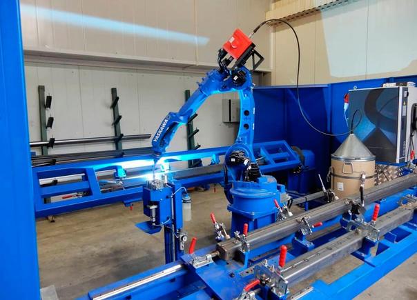 Высокопрочная сталь + робототизированный комплекс = Лесовозные коники 'STEELBEAR'